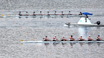 karapiro rowing